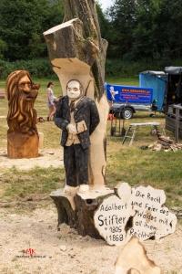 Kettensäge-Schnitzer Böhmerwaldmesse