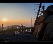 Sonnenuntergang Dreisessel