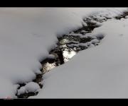 Spiegelung im Schnee