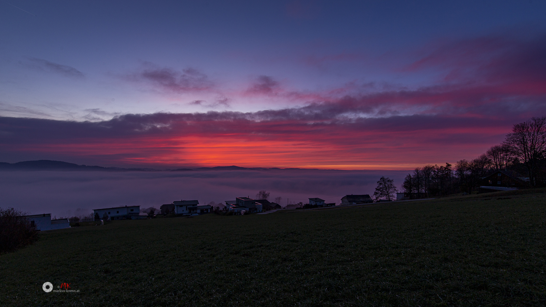 Sonnenuntergang - Ulrichsberg